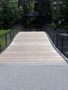 Free Wooden Bridge Path Royalty Free Stock Photos - 5816268