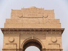 Free India Gate At New Delhi Royalty Free Stock Photos - 5817018