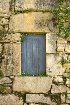Free Blue Doorway Stock Photo - 5817280
