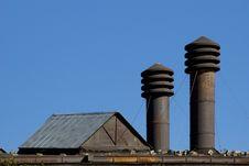 Free Factory Chimneys Stock Photos - 5818273
