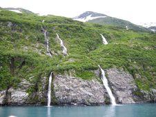 Free Alaskan Waterfalls Stock Image - 5818321