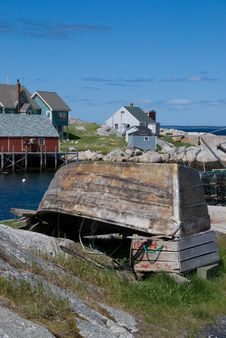 Free Peggy S Cove Royalty Free Stock Image - 5818426