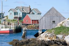 Free Peggy S Cove Royalty Free Stock Images - 5818459