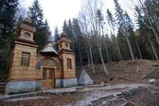 Free Russian Chapel Stock Photography - 5818662