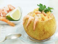 Free Shrimp Salad Stock Photography - 5818862