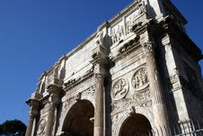 Free Roman Forum Arch Stock Images - 5819094