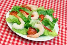 Free Shrimp Salad Royalty Free Stock Photo - 5819625
