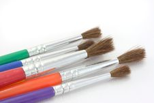 Free Paint Brushes. Stock Photography - 5819802