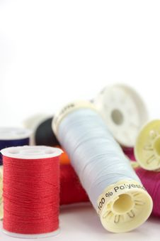 Free Cotton Reels. Royalty Free Stock Image - 5819866