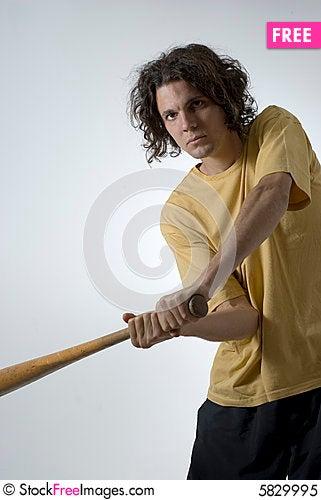 Name needed man swinging bat good