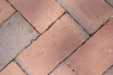 Free Diagonal Paver Background Stock Images - 5820774