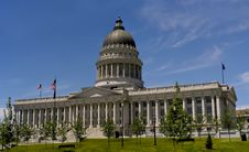 Free Utah State House Royalty Free Stock Image - 5820986