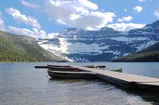 Mountains And Lake Royalty Free Stock Photos
