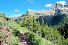 Free Alpine Hiking Trail Stock Photo - 5821050