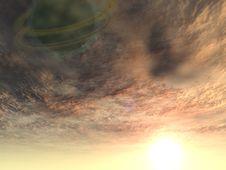 Free Dark Planet Stock Image - 5821411