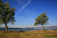 Free Bridge In Denmark Stock Photography - 5821482