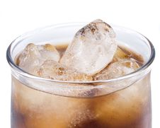 Free Cold Fizzy Cola With Ice Royalty Free Stock Photo - 5821815