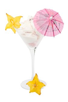 Free Ice-cream In A Glass Stock Image - 5821911