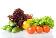 Free Still-life With Vegetables Stock Photography - 5821962
