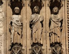 France Rouen: The Gothic Cathedral Of Rouen Stock Photo