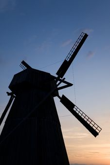 Free Old Windmill Royalty Free Stock Image - 5822236