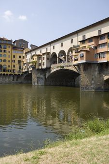Free Ponte Vecchio, Florence Royalty Free Stock Photo - 5822295