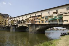 Free Ponte Vecchio, Florence Stock Image - 5822431