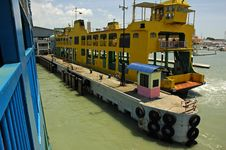Free Ferry At Pier Stock Images - 5822454