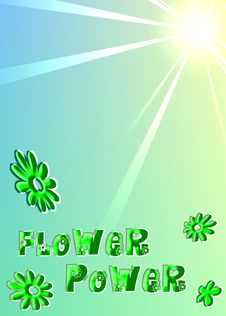 Free Flower Power Stock Photography - 5822592
