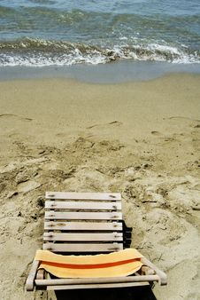 Free Beach Seat Stock Images - 5824094