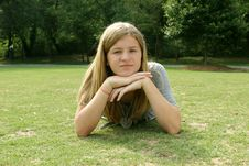 Free Teenage Girl Stock Image - 5824271