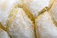 Shallah Bread Texture Royalty Free Stock Images