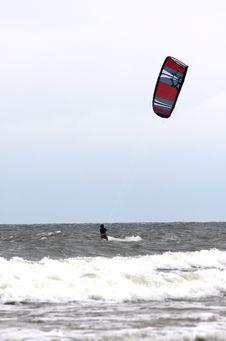 Free Kitesurfer Royalty Free Stock Image - 5824636