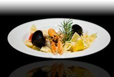 Langoustine Appetizer Royalty Free Stock Photos