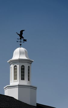 Free Cupola And Weathervane Royalty Free Stock Photography - 5825117