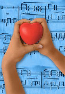 Free Love Music Stock Image - 5825601