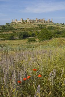 Free Monteriggioni, Tuscany Royalty Free Stock Photo - 5825925
