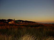 Oregon Coast At Sunset Royalty Free Stock Image