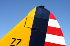 Free PT-19A Tail Fin Stock Photos - 5825963
