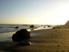Free Santa Barbara Beach Stock Photography - 5826012