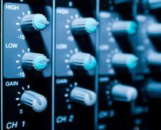 Free Mixer Sistem Bacground Royalty Free Stock Image - 5826086
