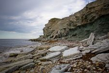 Free Cliffs On A Baltic Sea Shore Stock Photo - 5826480
