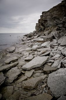 Free Cliffs On A Baltic Sea Shore Stock Images - 5826484
