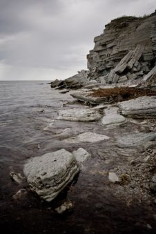 Free Cliffs On A Baltic Sea Shore Stock Photo - 5826490