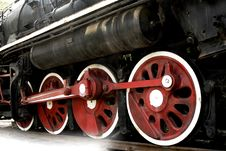 Free Wheel Of The Vapour Train Stock Photography - 5826542