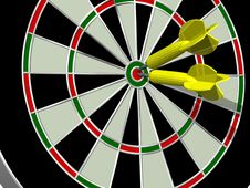 Free Double Bullseye Stock Photos - 5826963