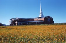 Free Church On Hill Stock Photos - 5827173