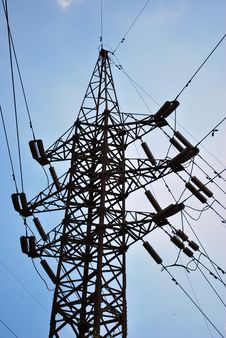 Free Power Line Stock Photography - 5827252