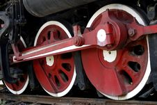 Free Wheel Of The Vapour Train Royalty Free Stock Images - 5827679