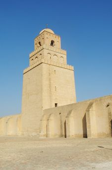 Free Mosque In Kairouan Stock Photography - 5827772